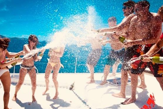 Feste in barca Lago d'Iseo