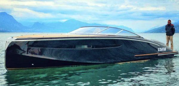 Motoscafo del Capitano lago di Garda